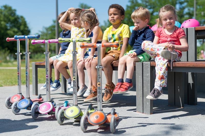 Otroški skiro za ure aktivne zabave